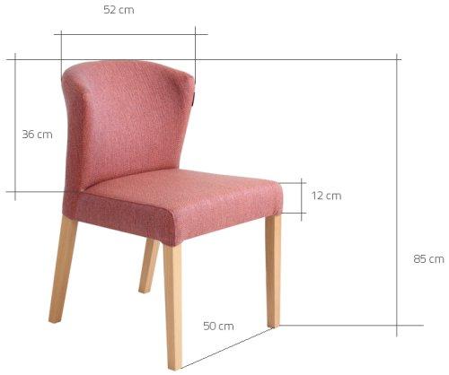 Wymiary krzesła Harvard Customform