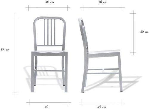 Wymiary krzesła Army Customform