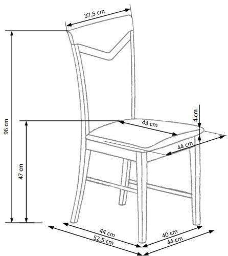 Krzesło Citrone Halmar