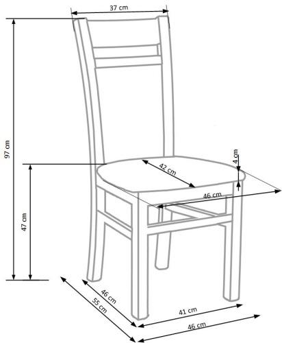 Krzesło Gerard 2 Halmar