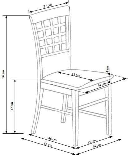 Krzesło Gerard 3 Halmar