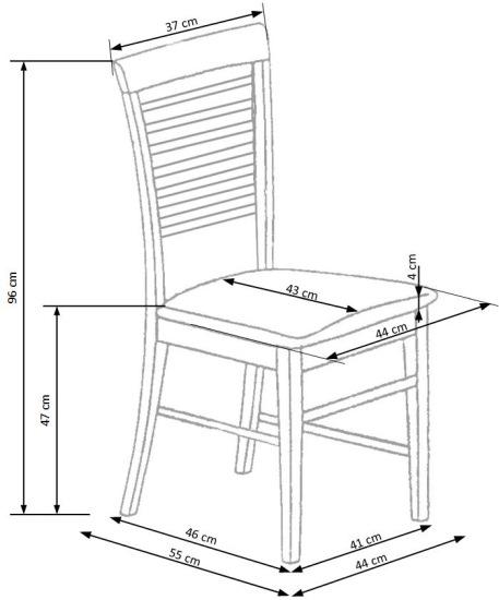 Krzesło Gerard 6 Halmar