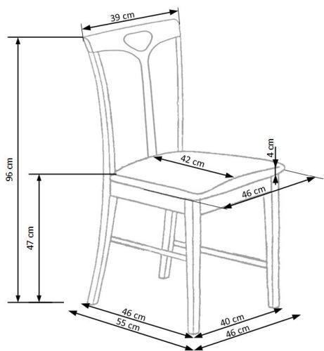 Krzesło Hubert 2 Halmar