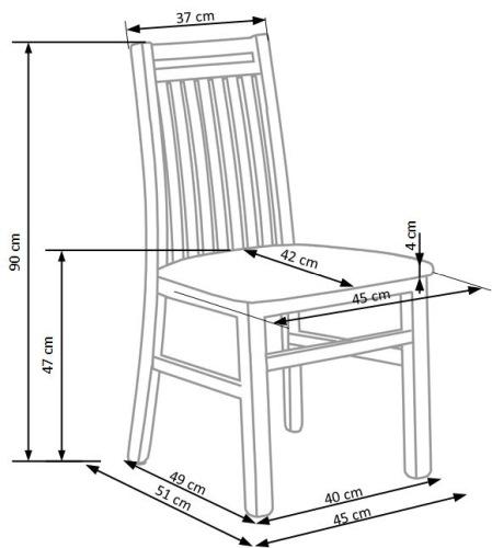 Krzesło Hubert 9 Halmar
