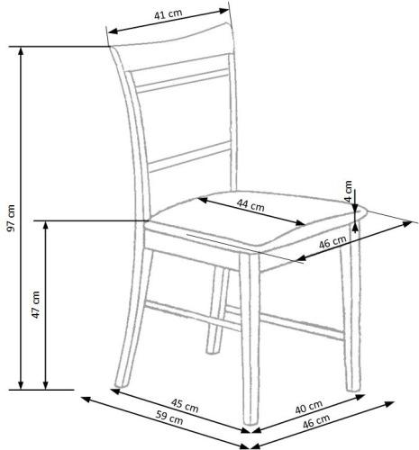 Krzesło Jakub Halmar