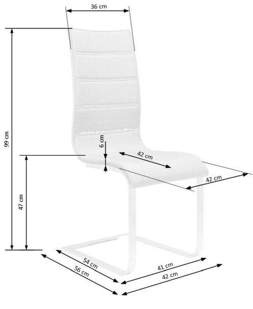 Krzesło K104 Halmar