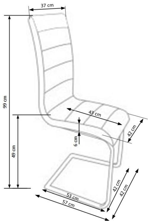 Krzesło K132 Halmar