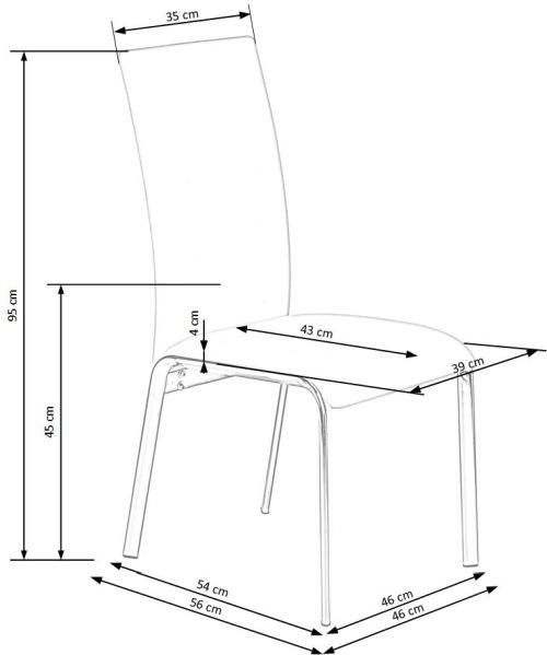 Krzesło K135 Halmar