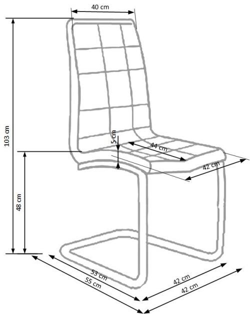 Krzesło K147 Halmar