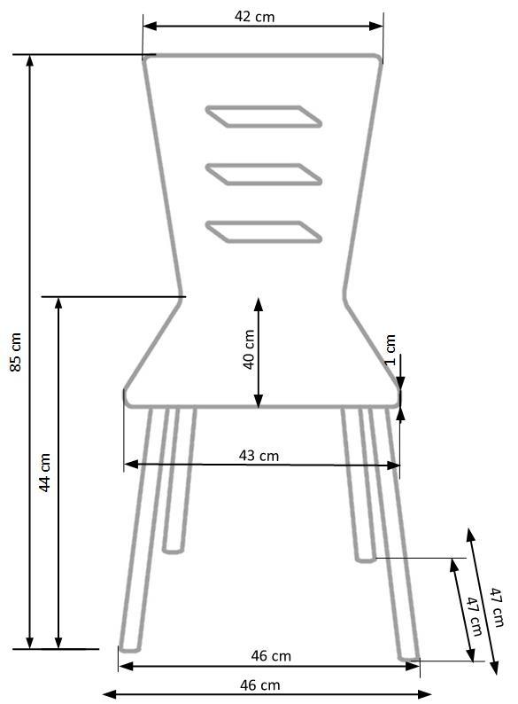 Krzesło K155 Halmar