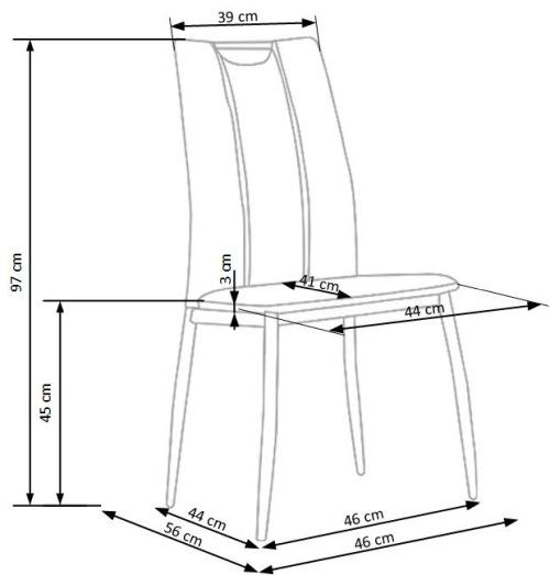 Krzesło K187 Halmar