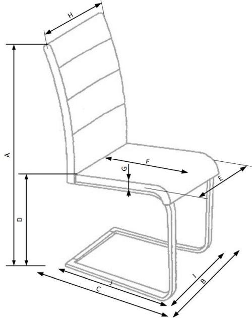 Krzesło K210 Halmar