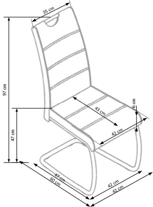 Krzesło K211 Halmar
