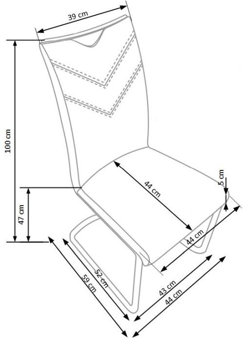 Krzesło K224 Halmar