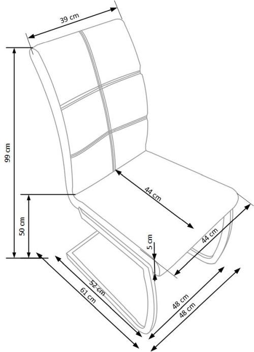 Krzesło K228 Halmar