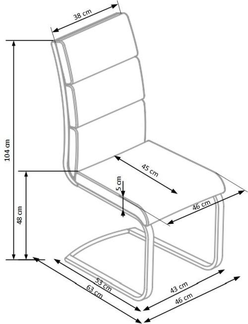 Krzesło K230 Halmar