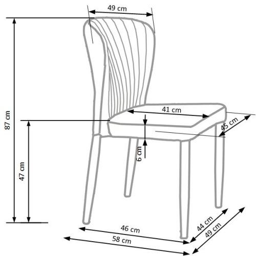 Krzesło K236 Halmar