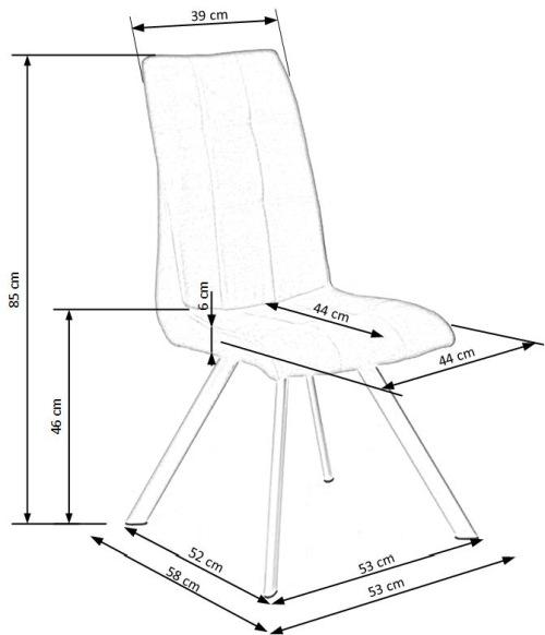 Krzesło K241 Halmar