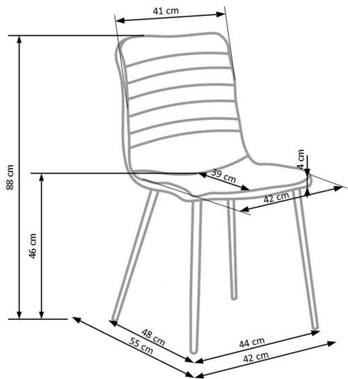 Krzesło K251 Halmar