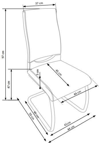 Krzesło K259 Halmar