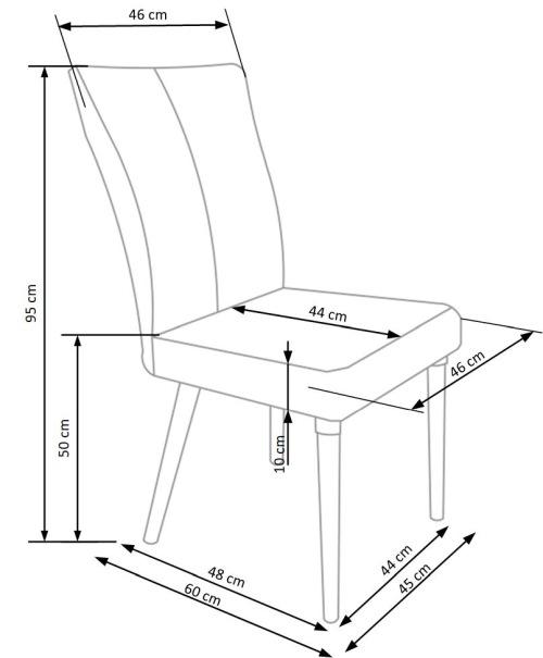 Krzesło K273 Halmar