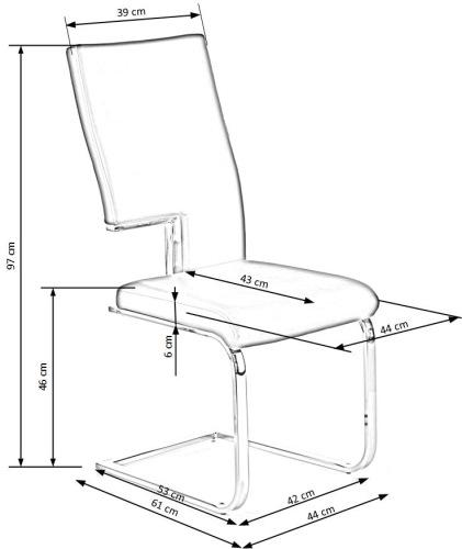 Krzesło K294 Halmar