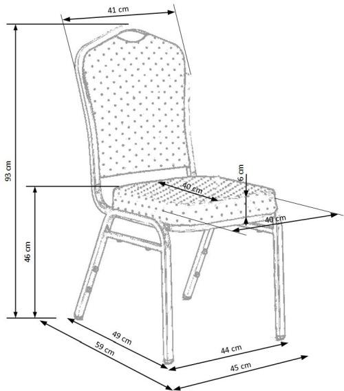 Krzesło K66 Halmar