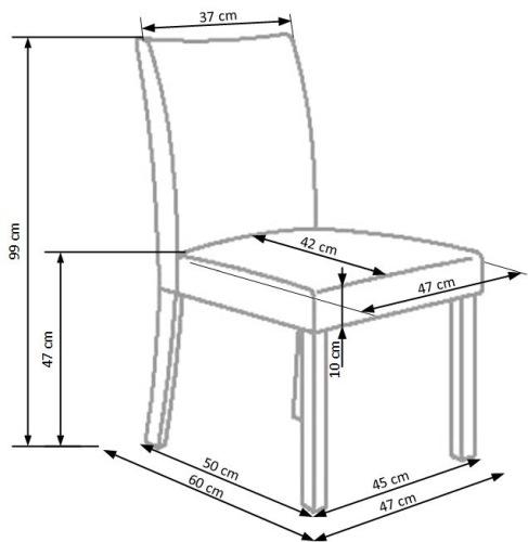 Krzesło Norbert Halmar