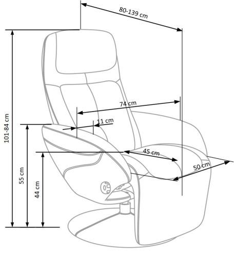 Fotel Optima Halmar
