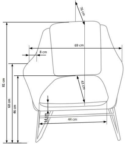 Fotel Soft Halmar