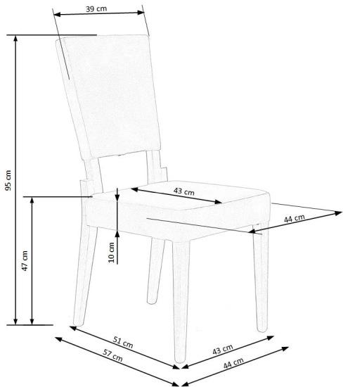 Krzesło Sorbus Halmar