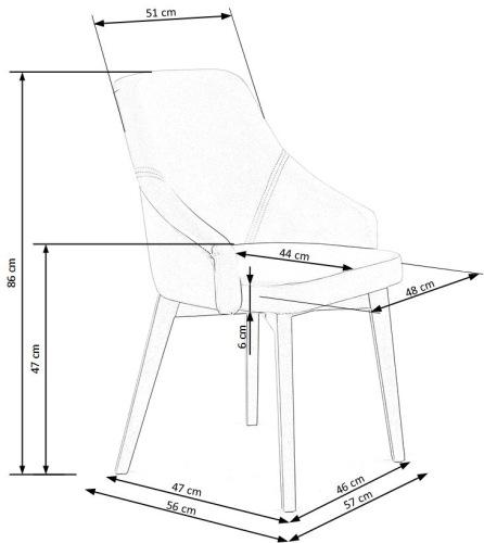 Krzesło Toledo 2 Halmar
