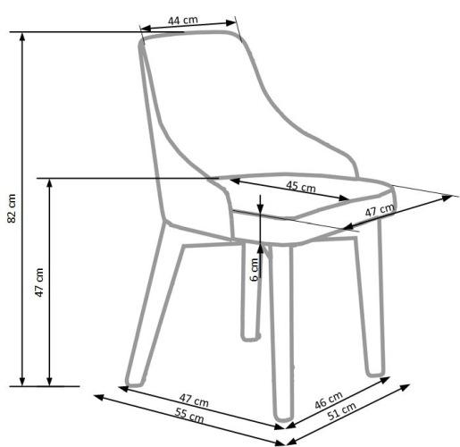 Krzesło Toledo Halmar