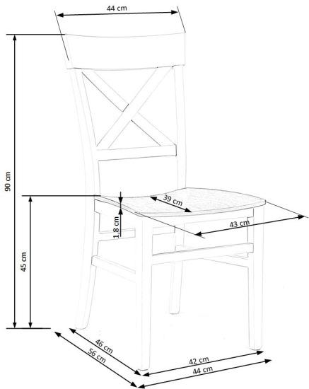 Krzesło Tutti Halmar