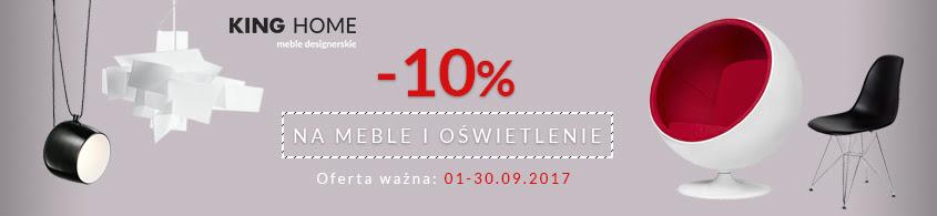 Promocja na produkty King Home w Modnekrzesla.pl