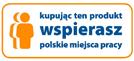 Kupując ten produkt wspierasz polskie miejsca pracy