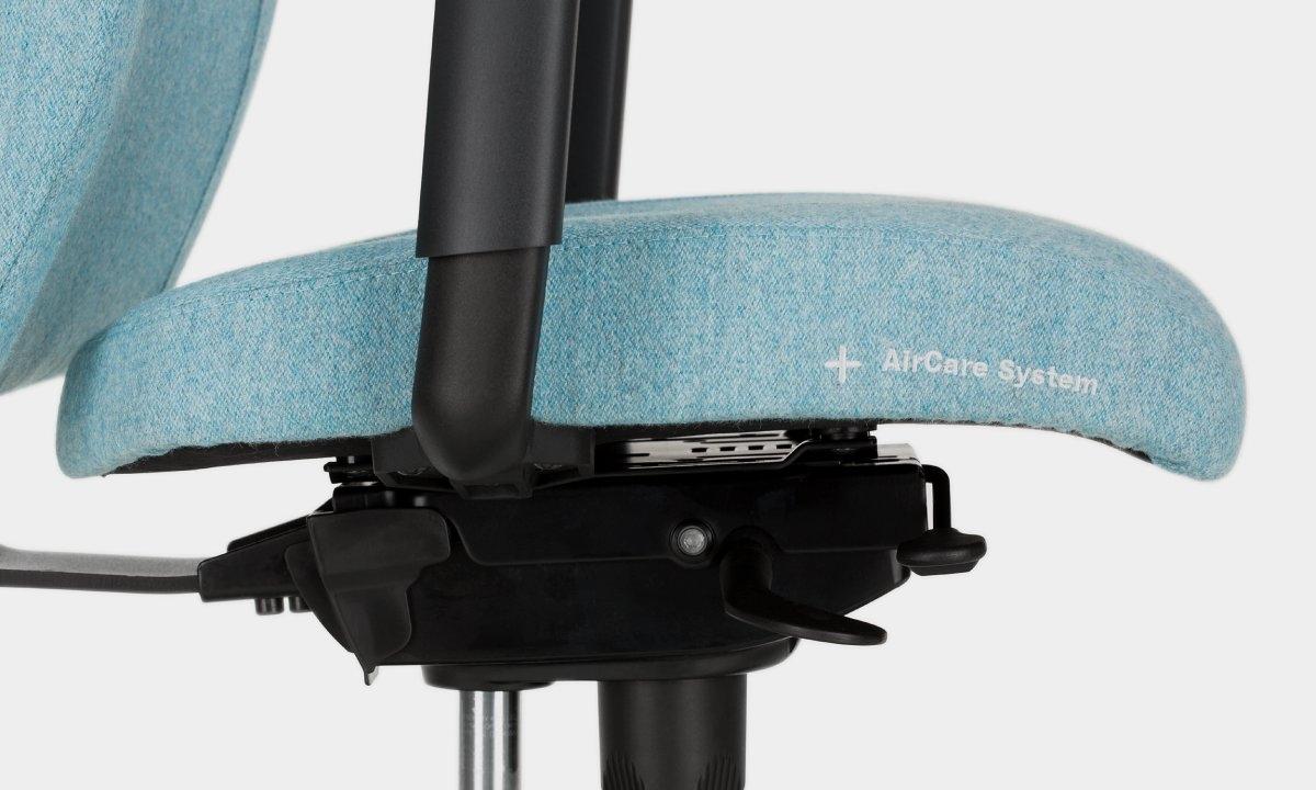 System AirCare w krześle biurowym Viden Nowy Styl