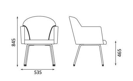 Fotel Athena 4L firmy Nowy Styl