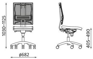Krzesło biurowe @-Motion ST33 RTS FS Nowy Styl