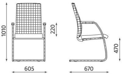 Krzesło biurowe stacjonarne Sit.Net Nowy Styl
