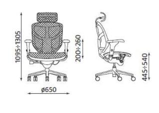 Krzesło biurowe obrotowe Enjoy HRMA Nowy Styl