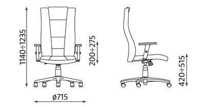 Fotel gabinetowy Invitus II TS06 Nowy Styl