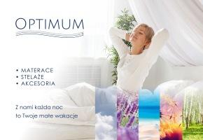 Katalog produktów firmy Optimum - Materace, łóżka, stelaże
