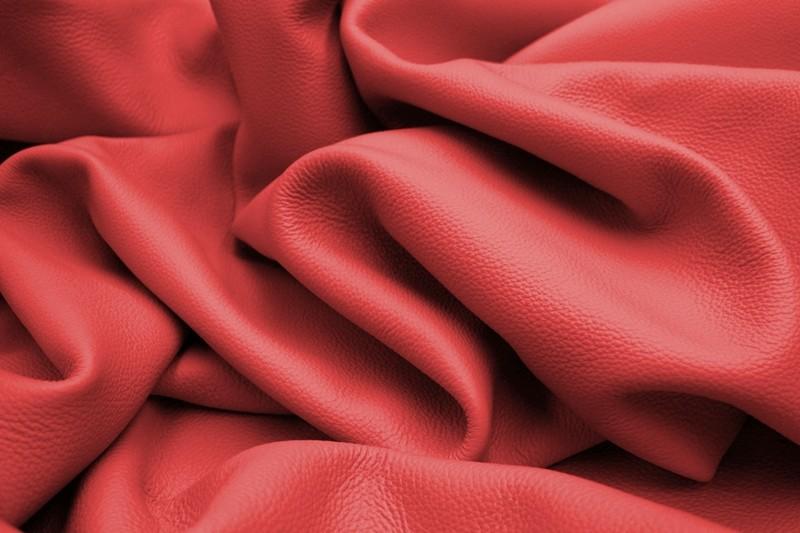 Skóra naturalna SN-06 czerwony