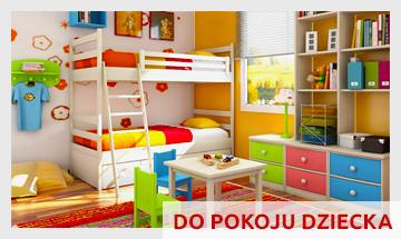 Meble do pokoju dziecięcego: biurka, krzesła i fotele, łóżka