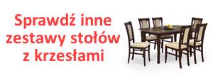 Zestawy stołów z krzesłami